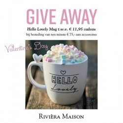 Riviera Maison give away valentijn