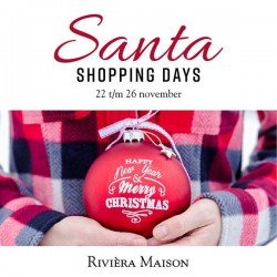 Riviera Maison Santa Shopping Days