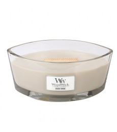 W104 Wood Smoke Ellipse WoodWick® HearthWick Flame®