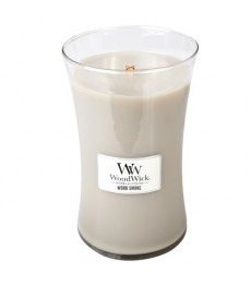 W035 Wood Smoke Large Candle WoodWick®